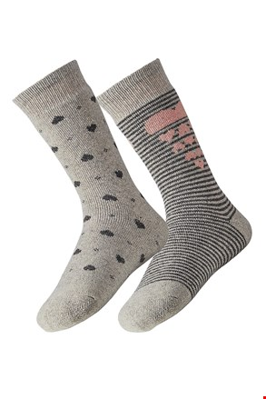 2 pack dámskych ponožiek Angora