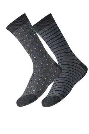 2 pack pánskych ponožiek Simon