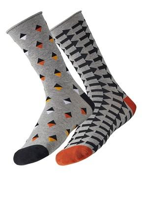 2 pack pánskych ponožiek Way
