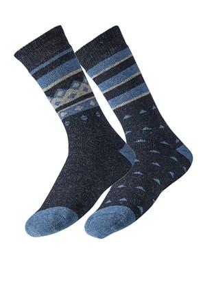2 pack pánskych ponožiek Theo