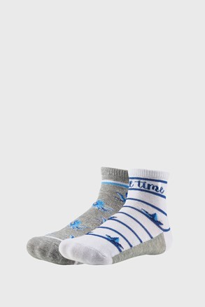2 PACK chlapčenských ponožiek Time