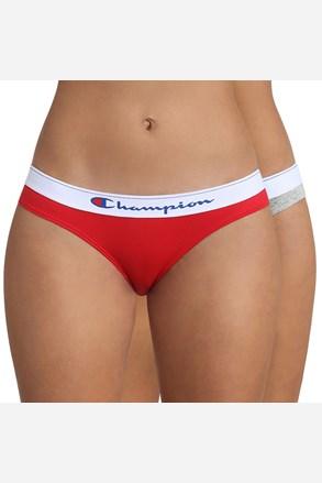 2 DB Champion női alsó, szürke-piros