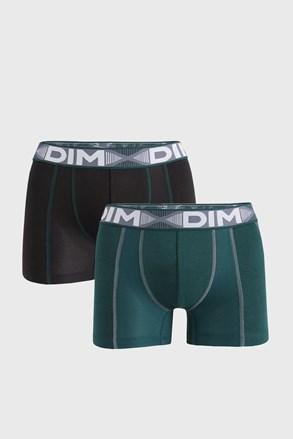 2 PACK čierno-zelených boxeriek DIM Flex Air