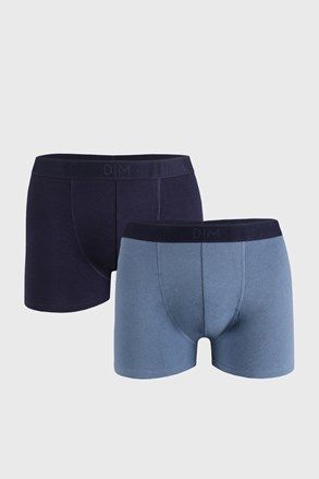 2 PACK modrých boxeriek DIM Soft