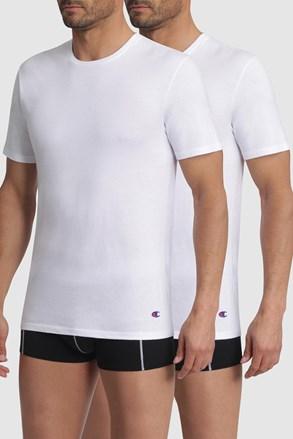 2 pack pánskych bielych tričiek Champion