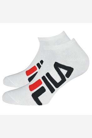 2 pack bielych nízkych ponožiek FILA