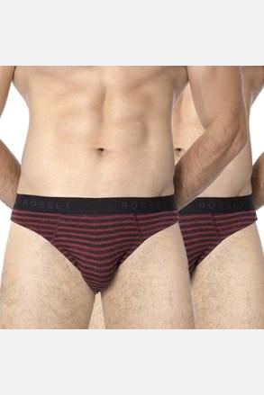 2 pack pánskych slipov ROSSLI Stripes