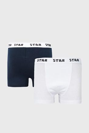 2 PACK chlapčenských boxeriek Star