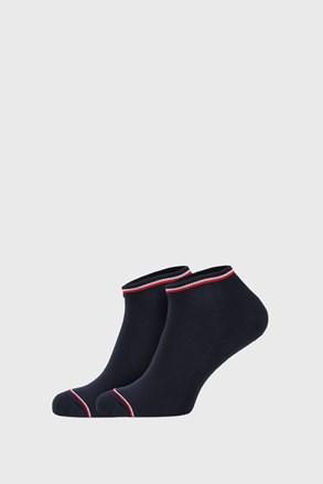 2 PÁR kék zokni Tommy Hilfiger Iconic Sneaker