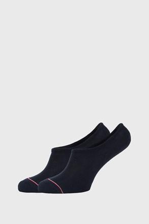 2 PÁR kék alacsony szárú zokni Tommy Hilfiger Iconic