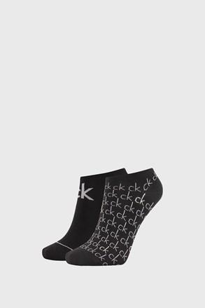 2 PACK dámskych čiernych ponožiek Calvin Klein Callie