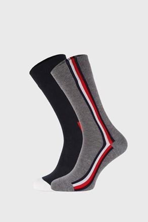 2 PACK vysokých ponožiek Tommy Hilfiger Iconic Hidden