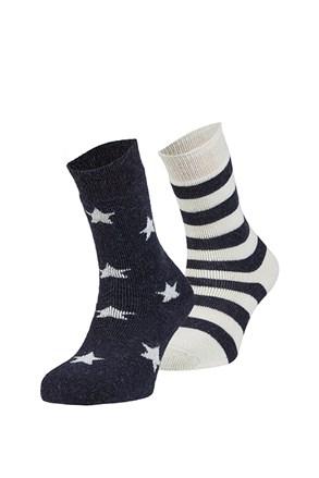 2 pack hrejivých ponožiek Estrella