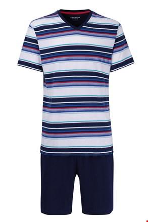 Pánske pyžamo CECEBA Red 5XL plus nežehlivé