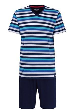 Pánske pyžamo CECEBA Aqua 5XL plus nežehlivé
