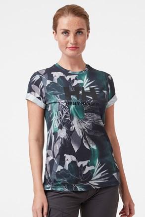 Dámske vzorované tričko Helly Hansen