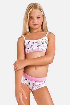 Dievčenský komplet nohavičiek a topu Butterfly III