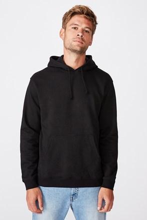 Čierna mikina Essential Fleece