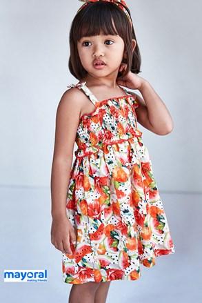 Dievčenské šaty s čelenkou Mayoral Melone