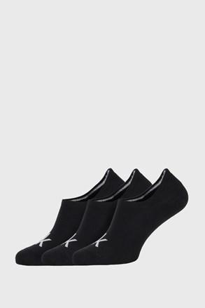 3 PÁR fekete zokni Calvin Klein Albert