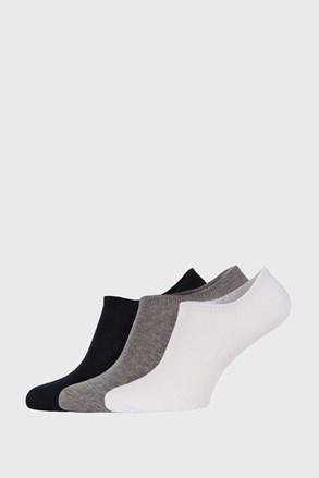 3 PACK detských nízkych ponožiek