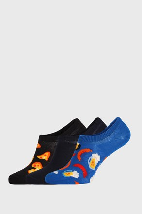 3 PACK ponožiek Happy Socks Junkfood No Show