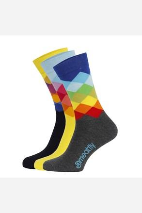 Farebné ponožky Pixel