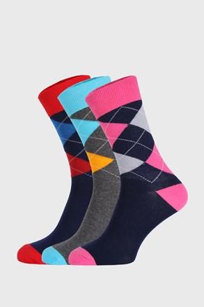 Bellinda Crazy Socks zokni, 3 pár 1 csomagban