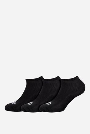 3 pack nízkych športových ponožiek Champion čierne