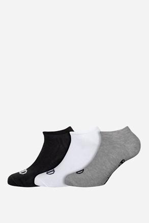 3 pack nízkych športových ponožiek Champion farebné