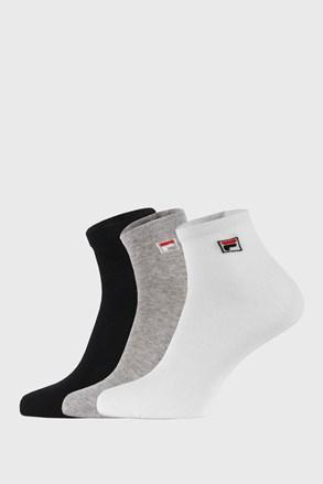 3-pack troch farieb členkových ponožiek FILA