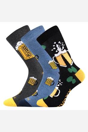 3 pack pánskych ponožiek PiVoXX III