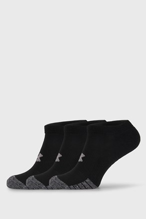 3 PÁR fekete zokni Under Armour
