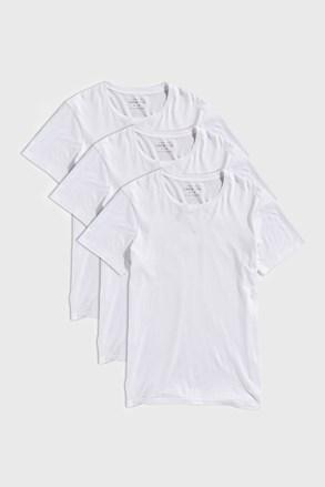 3 PACK bielych tričiek Austin