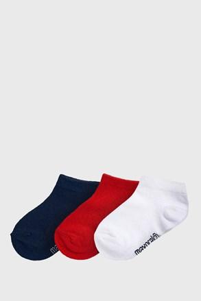 Jungle alacsony gyerek zokni, 3 pár 1 csomagban