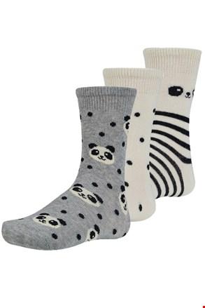 3 pack detských ponožiek Chinn