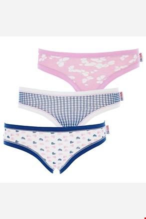 3 pack dievčenských nohavičiek Blue Motion