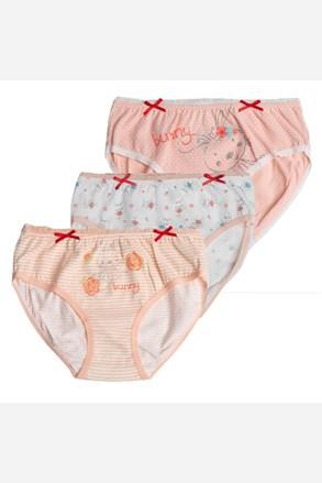 3 pack dievčenských nohavičiek Sweet