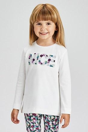Dievčenské tričko s dlhým rukávom Mayoral Nice