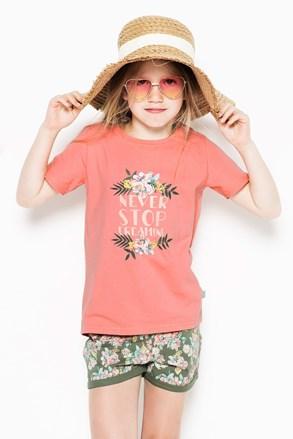 Dievčenské pyžamo Flowers