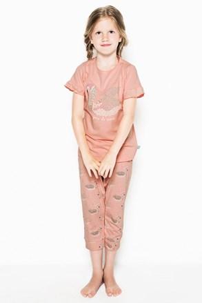 Dievčenské pyžamo Swans