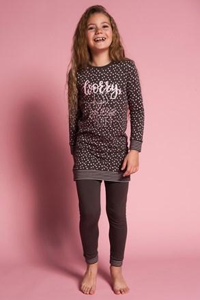 Dievčenské pyžamo Worry less