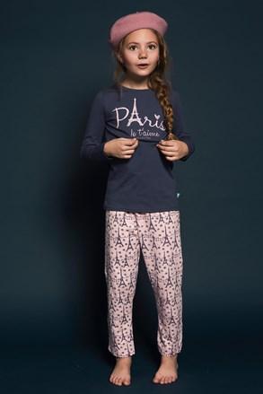 Dievčenské pyžamo Paris 01