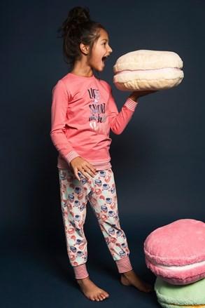 Dievčenské pyžamo pyžamo Sweet life