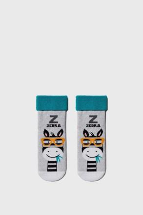 Dievčenské ponožky Zebra