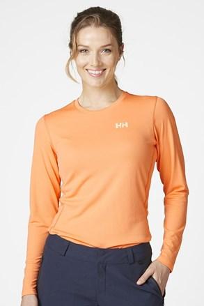 Helly Hansen narancssárga póló, hosszú ujjú