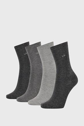 4 PÁR Calvin Klein Lola I női zokni