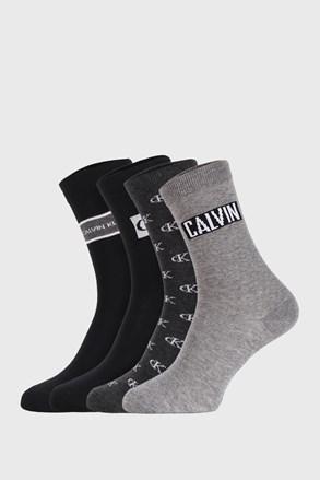4 PACK dámskych ponožiek Calvin Klein Bronx I