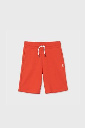 Chlapčenské šortky Mayoral Hibicus červené
