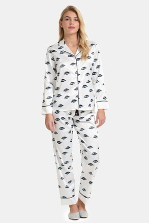 Ojos szatén pizsama